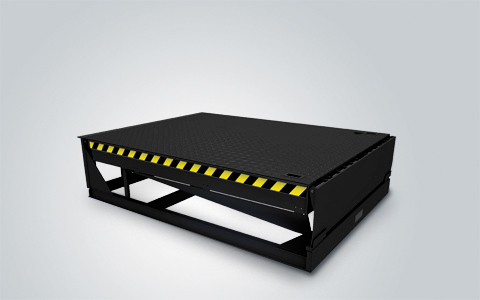Electro hydraulic Dock Leveler with Hinged Lip